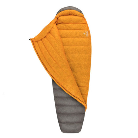 Sea to Summit Spark 4 down Sleeping Bag -15 Degrees unzipped