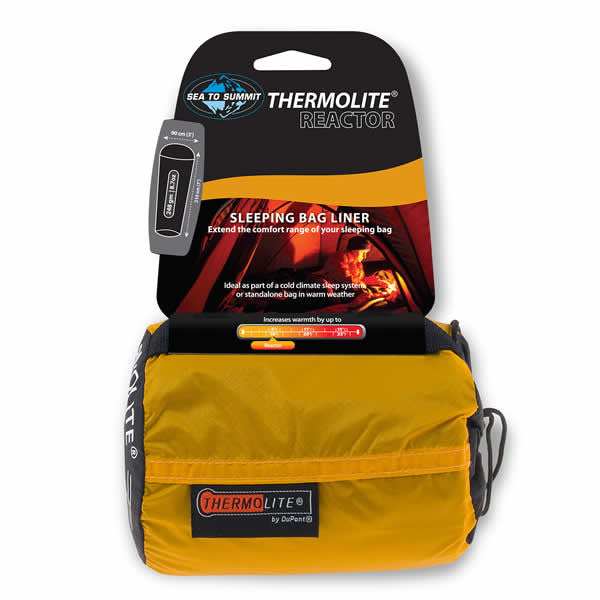 Sea to Summit Thermolite Reactor Sleeping Bag Liner - Seven Horizons