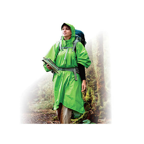 Sea to Summit Waterproof Nylon Tarp / Poncho Green