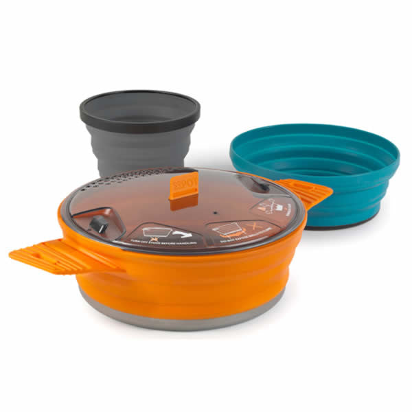 Sea to Summit X-Set 21 - Foldable Camp Pot, Bowl and Mug - Seven Horizons