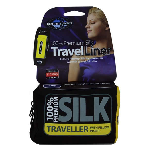 Sea to Summit Traveller Silk Travel Liner - Seven Horizons
