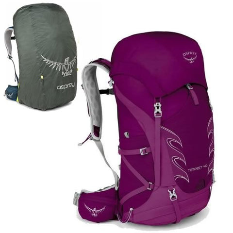 Osprey Tempest 40 Litre Hiking Backpack and free raincover