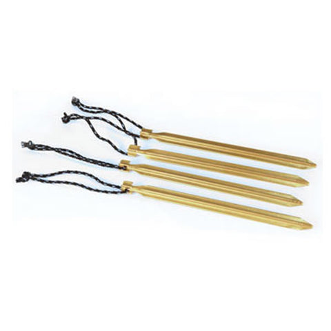 Wilderness Equipment Hiking Tent Peg Quad Gold