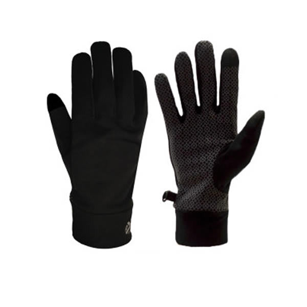XTM Arctic Liner Glove Black showing front and back