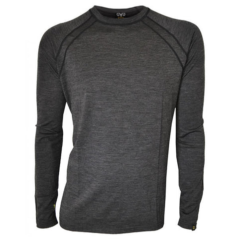XTM Men's Merino Long Sleeve Thermal Top 170gsm - Seven Horizons