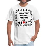 Pediatric Nurses Are Kids At Heart -Men's T-Shirt - white