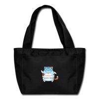 Fat Cat lunch bag - black