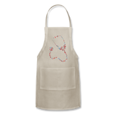 Stethoscope Adjustable Apron - natural
