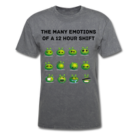 Emotions Men's T-Shirt - mineral charcoal gray