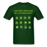 Emotions Men's T-Shirt - forest green