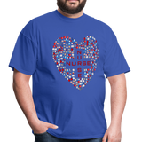 Nurse Heart Men's Classic T-Shirt - royal blue