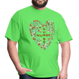 Nurse Heart Men's Classic T-Shirt - kiwi