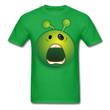 Screaming Alien Unisex Classic T-Shirt - bright green