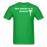 Mom is a Nurse Unisex Classic T-Shirt - bright green