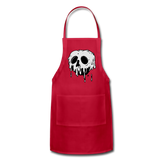 Adjustable Apron - red