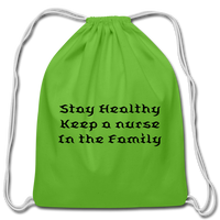 Cotton Drawstring Bag - clover