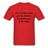 Unisex Classic T-Shirt - red