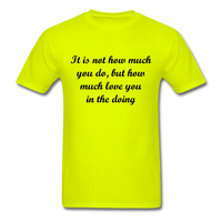 Unisex Classic T-Shirt - safety green