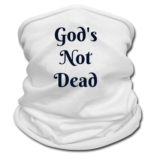 God's Not Dead Multifunctional Scarf | Tan's Club - white