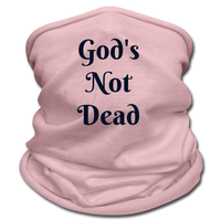 God's Not Dead Multifunctional Scarf | Tan's Club - pink