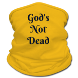 God's Not Dead Multifunctional Scarf | Tan's Club - sun yellow