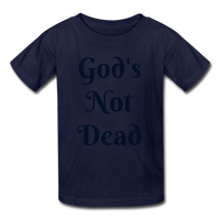 God's Not Dead Kids' T-Shirt - navy