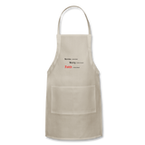 Adjustable Apron - natural