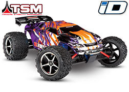 E-Revo® VXL: 1/16-Scale 4WD Racing Monster Truck with TQi Traxxas Link™ Enabled 2.4GHz Radio System & Traxxas Stability Management (TSM)®