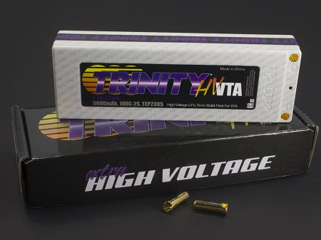 2S 7.4v 5000mah 100C High Voltage VTA Pack with 5MM