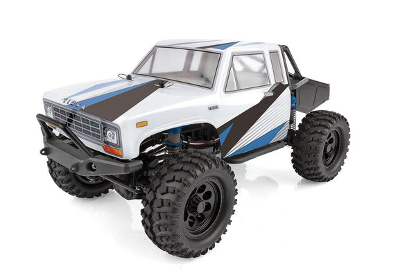 CR12 Tioga Trail Truck RTR, White & Blue