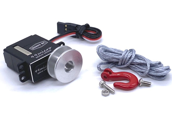 Micro Servo Winch w/ Micro Spool Kit