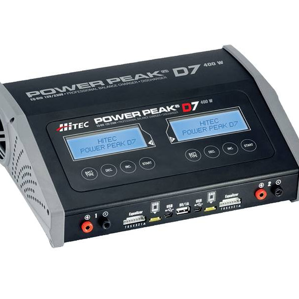 Power Peak D7 400 W AC/DC Balance Charger / Discharger