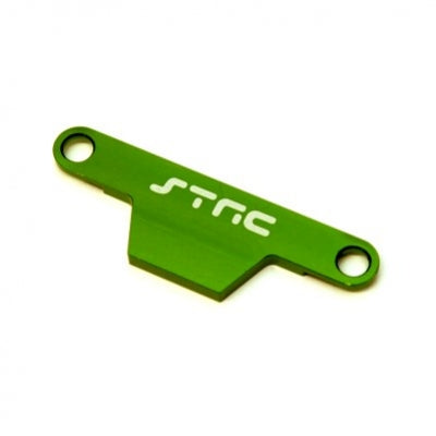 Battery Hold Down Plate-Green Alum HD Stampede/Bigfoot