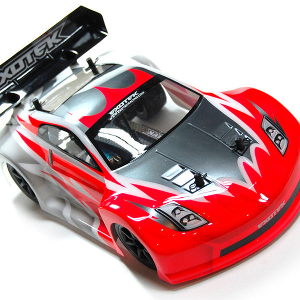 GT-Z Clear Body Set, for Mini APEX Touring Car