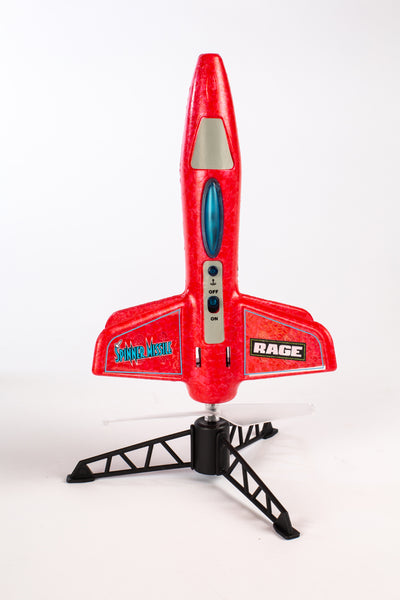 Spinner Missile - Red Electric Free-Flight Rocket