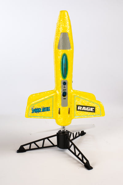 Spinner Missile - Yellow Electric Free-Flight Rocket