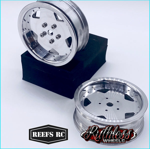 Tidal Beadlock Drag Wheels w/ Rings and Hardware (4pcs)