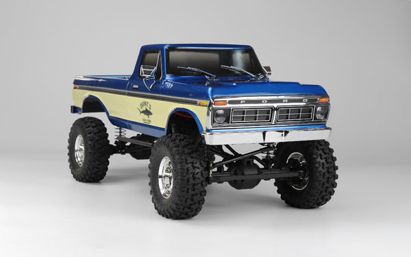 SCA-1E 1/10 Scale '76 Ford F-150 4WD Scaler, RTR - Blue