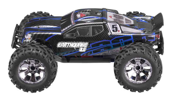 Earthquake 3.5 1/8 Scale Nitro Monster Truck, Blue