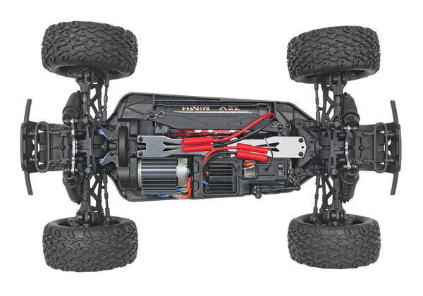 Blackout XTE 1/10 Scale Electric Monster Truck, Silver