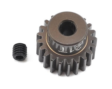 "FT Aluminum Pinion Gear, 21T 48P, 1/8"" shaft"
