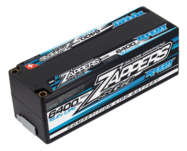 Zappers SG3 LiPo 6400mAh 115C 15.2V Battery Stick