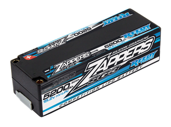 Zappers SG3 LiPo 5200mAh 115C 15.2V LP Battery Stick