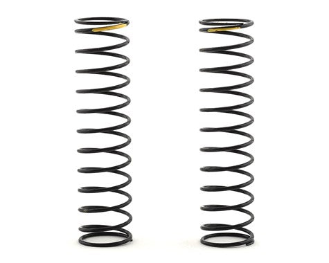 Shock Springs, Yellow, 2.47 lb/in, L63mm