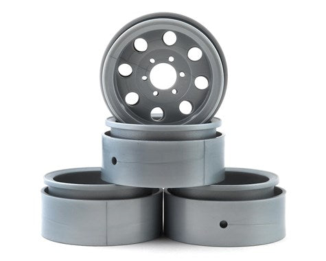 "Enduro The Ocho Wheels, 1.90"", Silver"