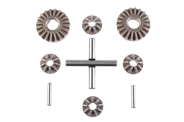 Planetary Differential Gears - Steel - 1 Set: SBX410