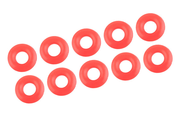 Shock Body O-Ring - Silicone - 2.9x6.5mm - 10 pcs: SBX410