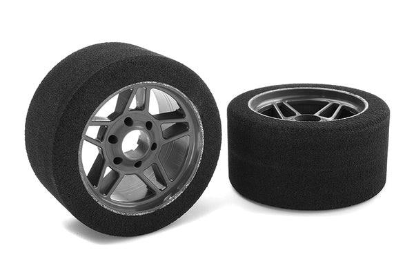 Attack Foam Tires - 1/8 Circuit - 32 Shore - Front -