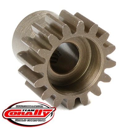 32 Pitch Pinion - Short - Hardened Steel - 16 Tooth -