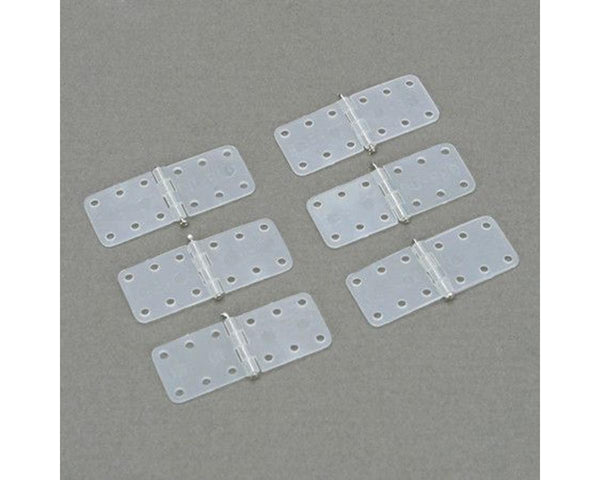 Small Nylon Hinges-6 pack